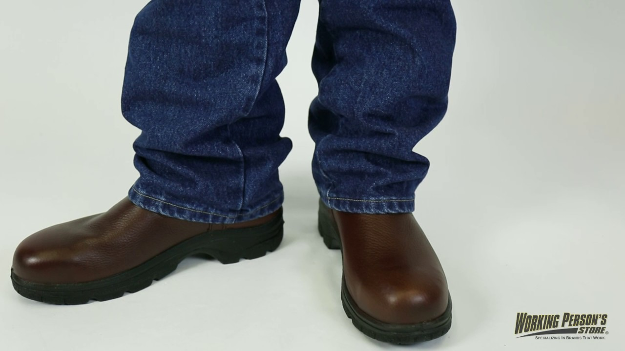 638db1a0603 Thorogood Men's Steel Toe 804-4580 EH Wellington Boots