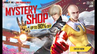 Mystery Shop | Free Fire x One-Punch Man