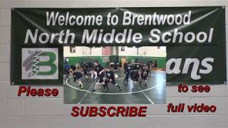 H.D. - Boys Wrestling. Middle School. Brentwood North vs Elwood M.S.