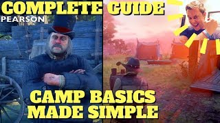 COMPLETE WALKTHROUGH Camp Basics Made Simple (Ledger, Icons, Pearson, Chores) Red Dead Redemption 2