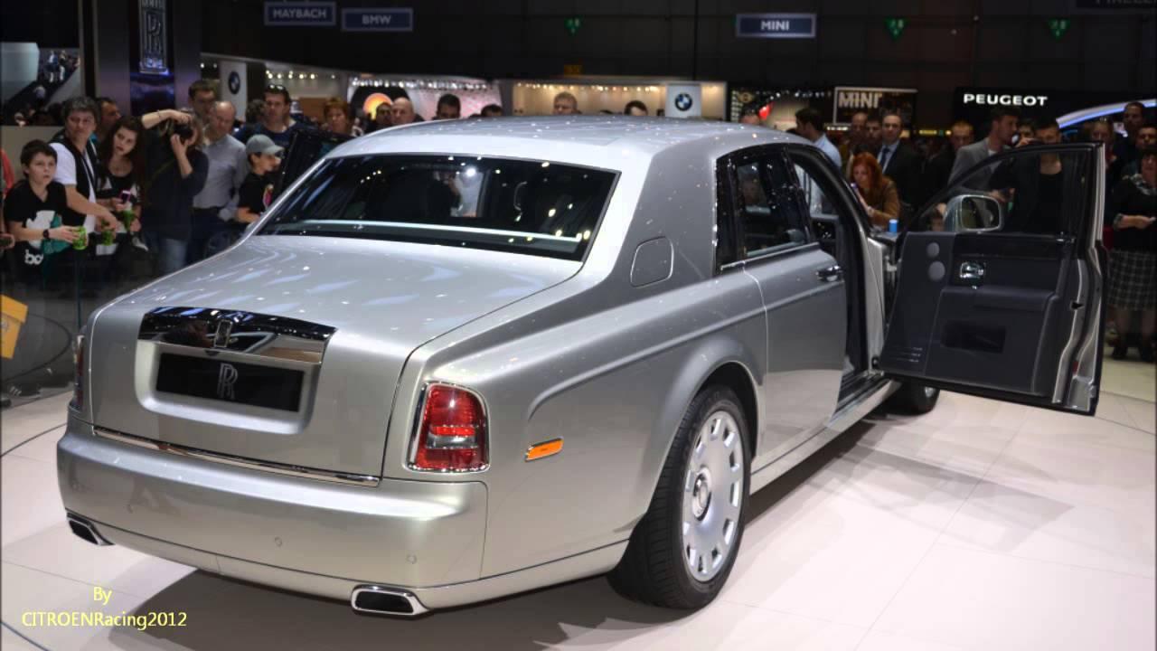 Rolls royce phantom 2016 limousine serie ii inside outside for Interieur rolls royce