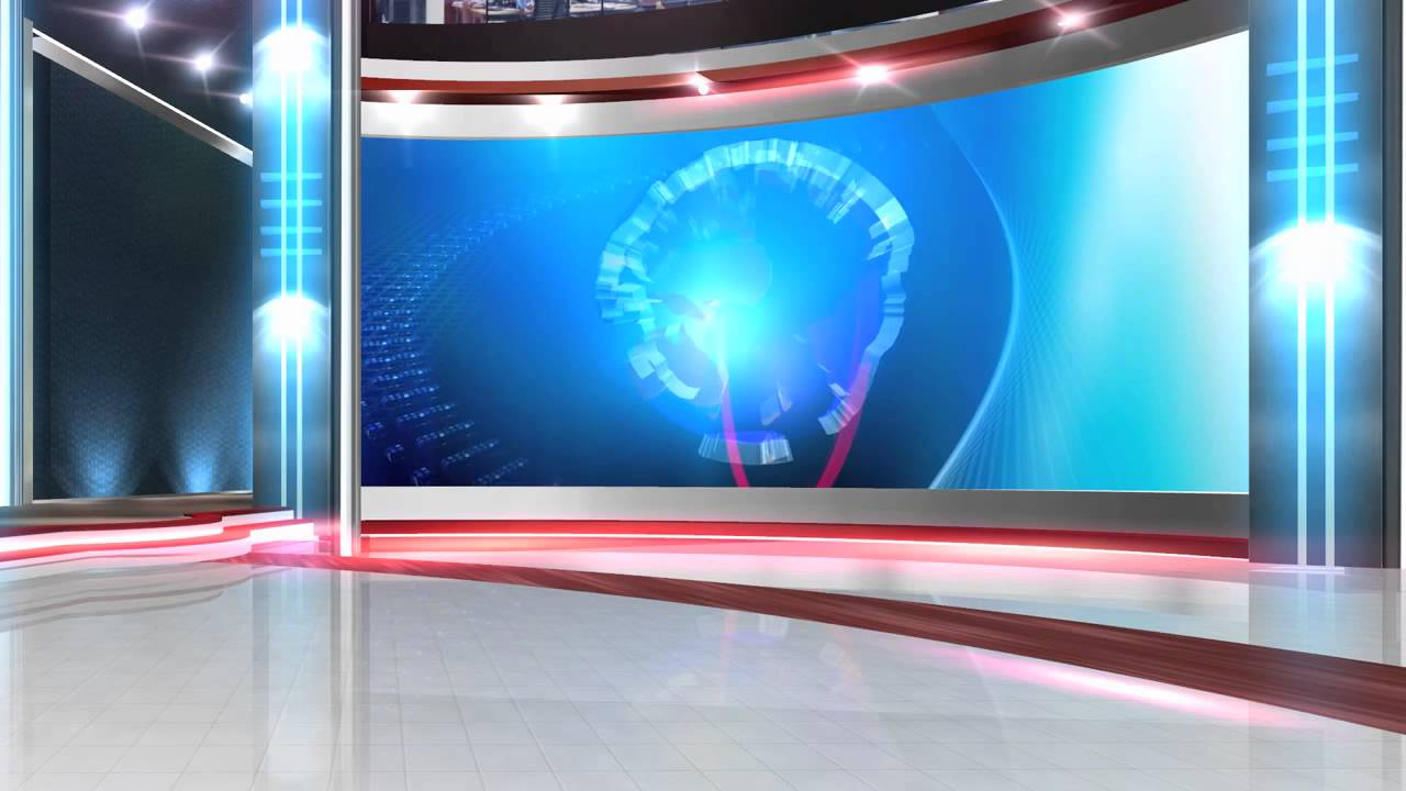 Free Virtual News Studio Background Globe Close Hd Youtube