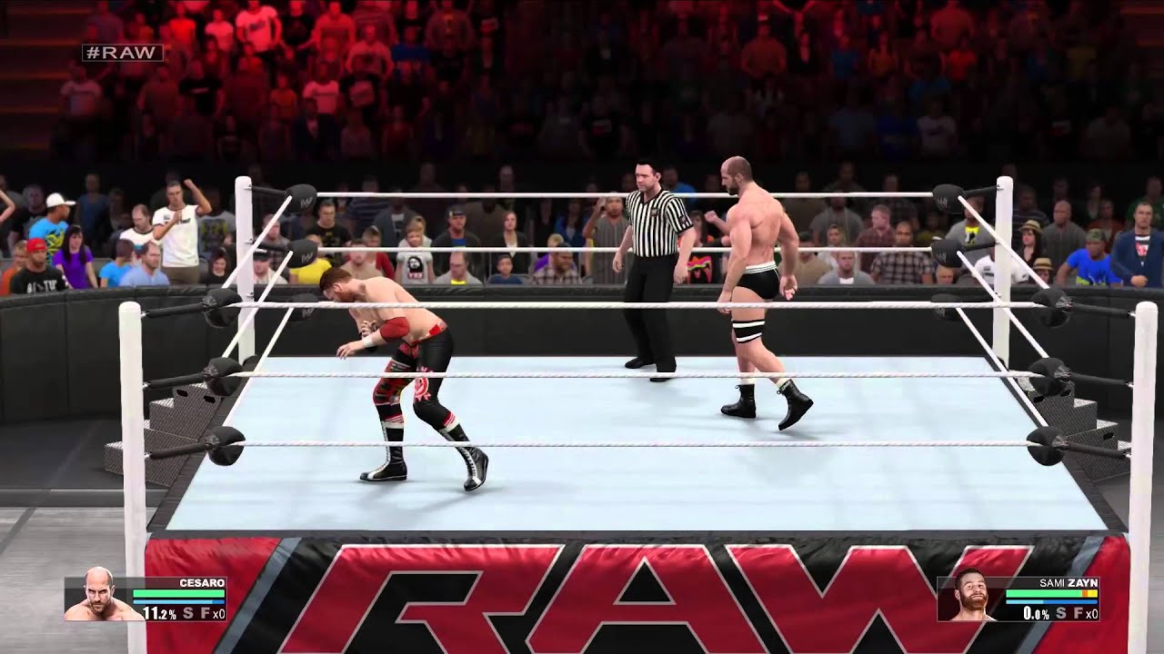 New Wrestling Game For Ps3 : Wwe k controls trailer playstation and xbox one