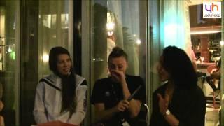 Ladyhoop - Off Court : Miranda Ayim, Michelle Plouffe et Lizanne Murphy