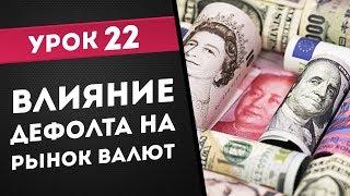 ТелеТрейд  Урок 22  Влияние дефолта на рынок валют