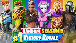 The *RANDOM* SEASON 5 Challenge in Fortnite!