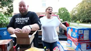 Baixar I bought 200 Pounds of Grocery Amazon Customer Returns & Watch the EPIC Pallet Unboxing