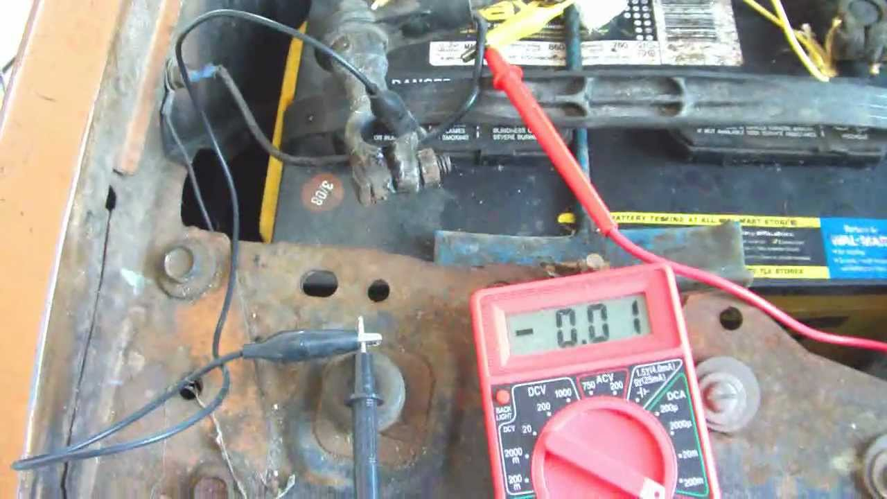 medium resolution of battery parasitic draw check for chrysler sebring other makes