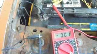 Battery Parasitic Draw check, for Chrysler Sebring & other makes