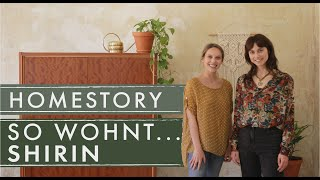 SO WOHNT...Shirin | Reduzierter 60ies Style trifft BoHo in Dresden | Home Story | Jelena