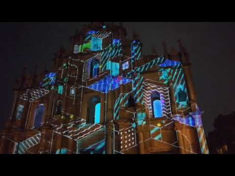 澳門光影節 2017 Macau Light Festival 大三巴 Ruins of St Paul's