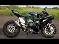 Kawasaki Ninja H2 - TOP SPEED!