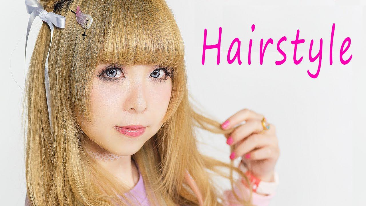 2 Kawaii Fairy Hair Styles Tutorial By Japanese Fashion Model Moco
