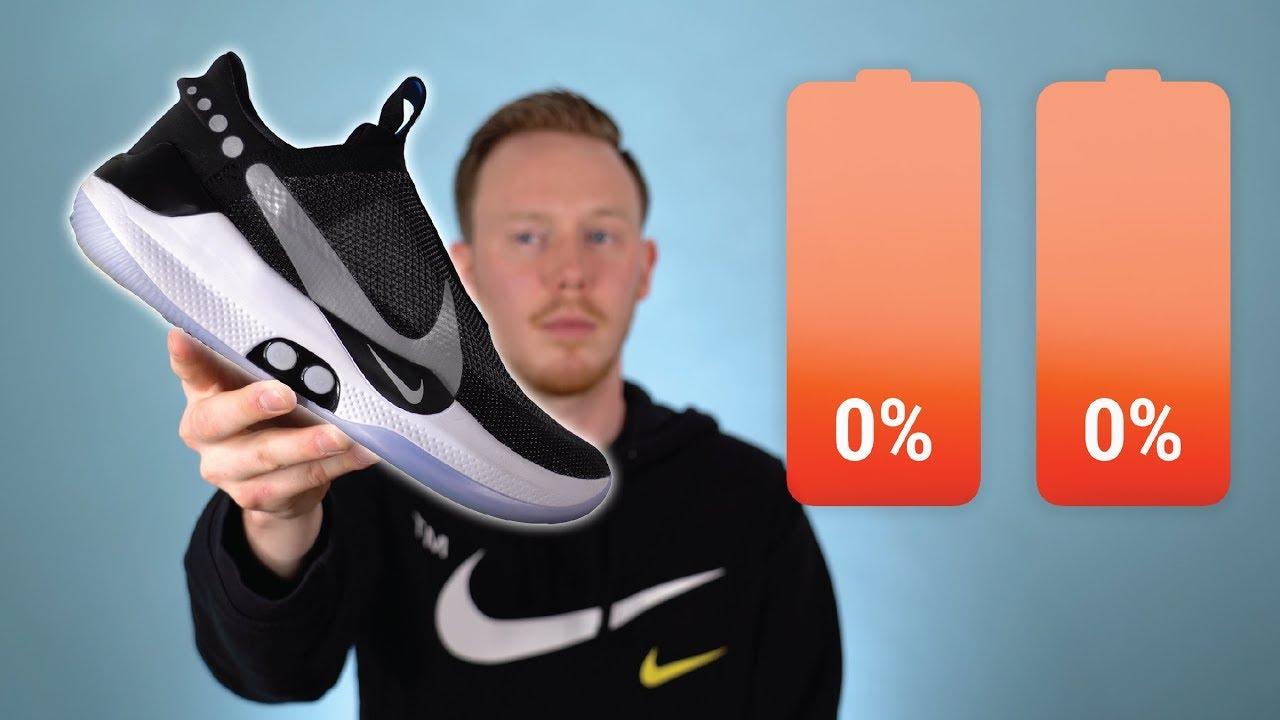 Wearing the Self Lacing Nike Adapt BB