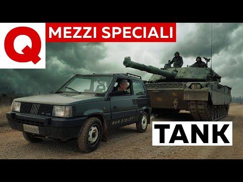 C1 Ariete: tutti i segreti del carro armato italiano (ft. Panda 4x4)