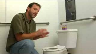 How to Install a Kid Sized Toilet -- Video