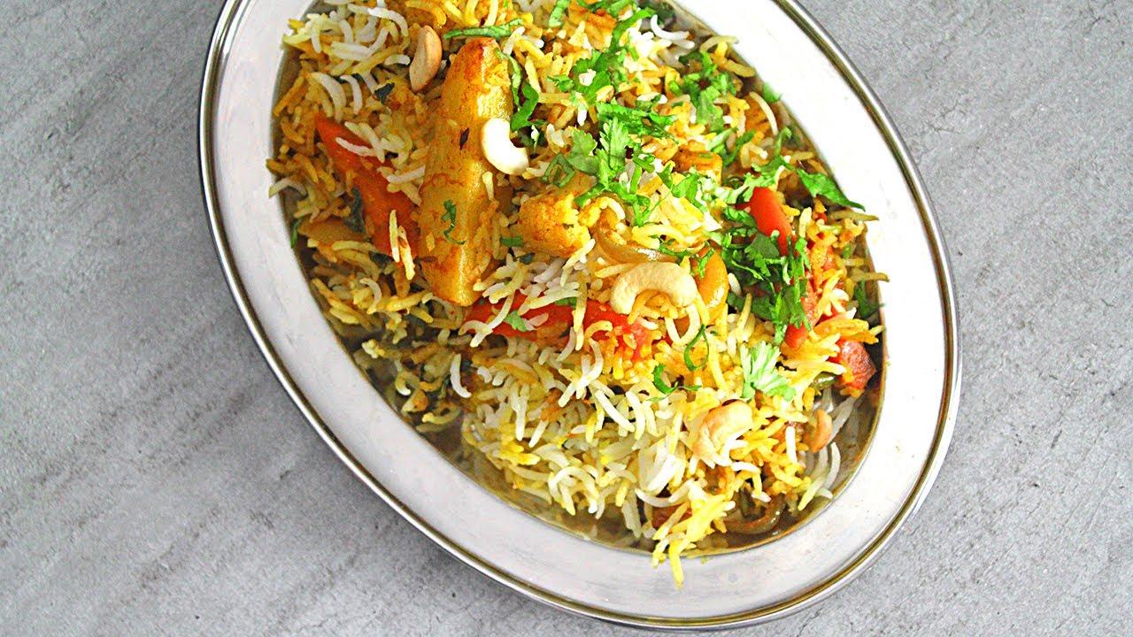 Recette De Riz Biryani Aux Legumes Veg Biryani Pankaj Sharma