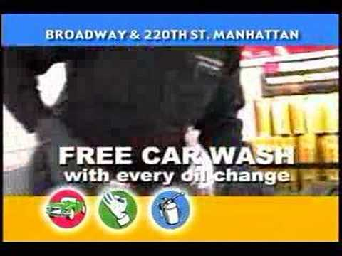 New York City (NYC) Car Wash and Oil Change