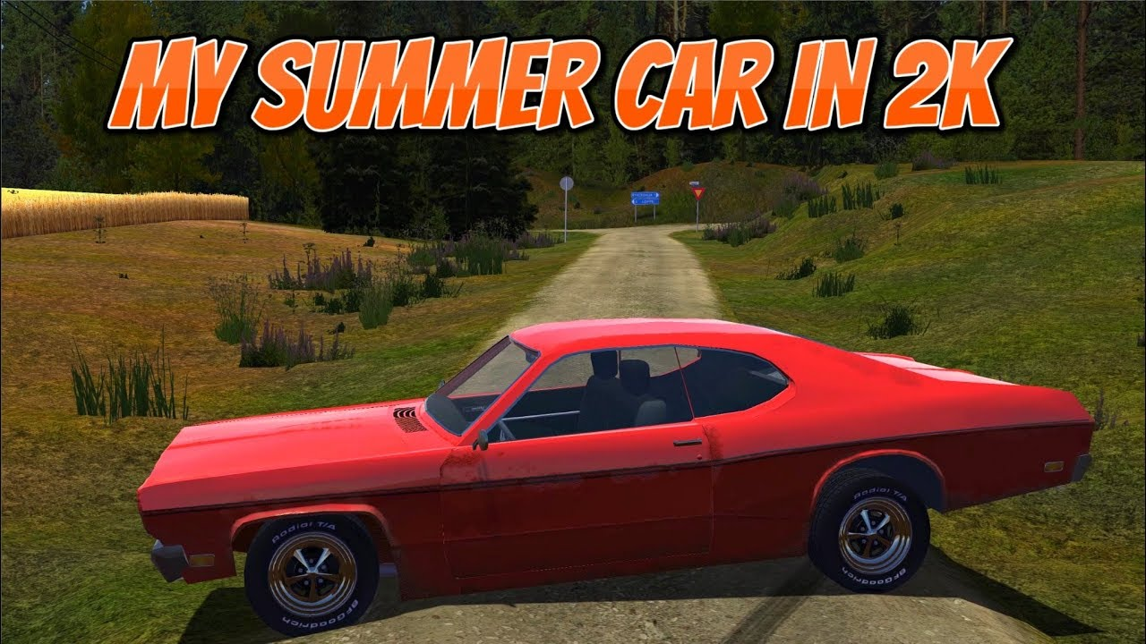 my summer car in 2k ! (working gauges in dustman mod car) - youtube