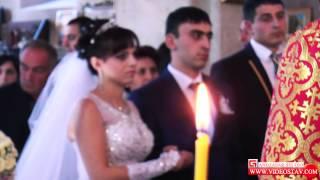 Армянская свадьба в Ставрополе ,венчание Арут Силва