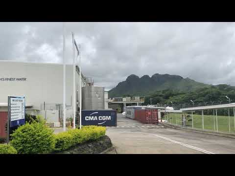 Fiji Water Factory in Fiji 2018