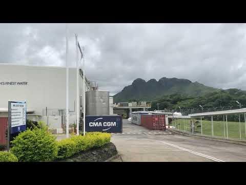 Fiji Water Factory In Fiji 2018