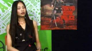 Interview with Eihi Shiina about Tokyo Gore Police.