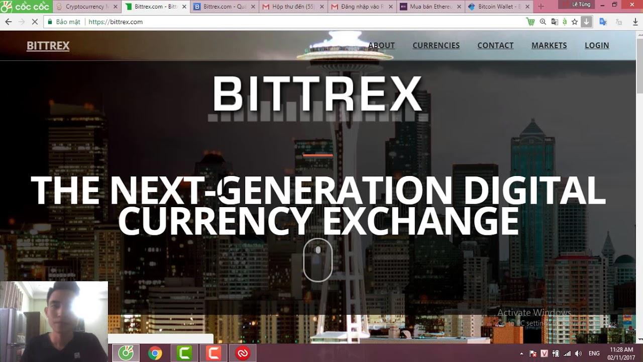 Hướng dẫn mua nắm giữ Litecoin, Neo, Nem, ADA, Ripple trên sàn Bittrex