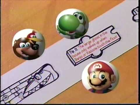 Fruit by the Foot with Nintendo 64 Game Tips - Commercial ...