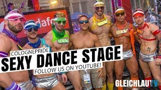 Tanzbühne zum Cologne Pride 2019