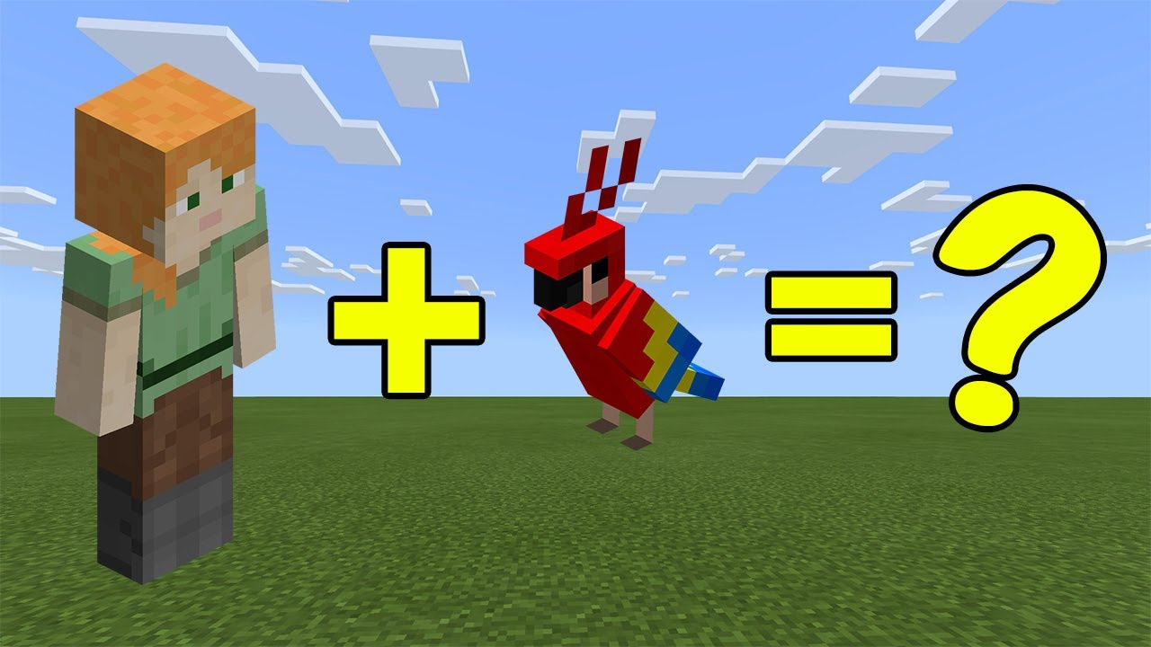 Download I Combined Alex and a Parrot in Minecraft - Here's WHAT Happened...