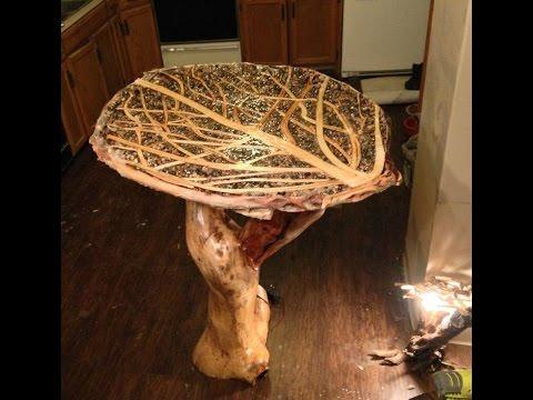Журнальные столики из корней  деревьев. Журнальные столики своими руками.