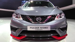 2015 Nissan Pulsar Nismo Concept - Exterior Walkaround - Debut at 2014 Paris Auto show