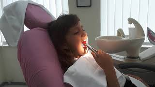 Dhurata removes her tooth without help from dentist