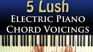 5 Simple Neo Soul Chord Voicings