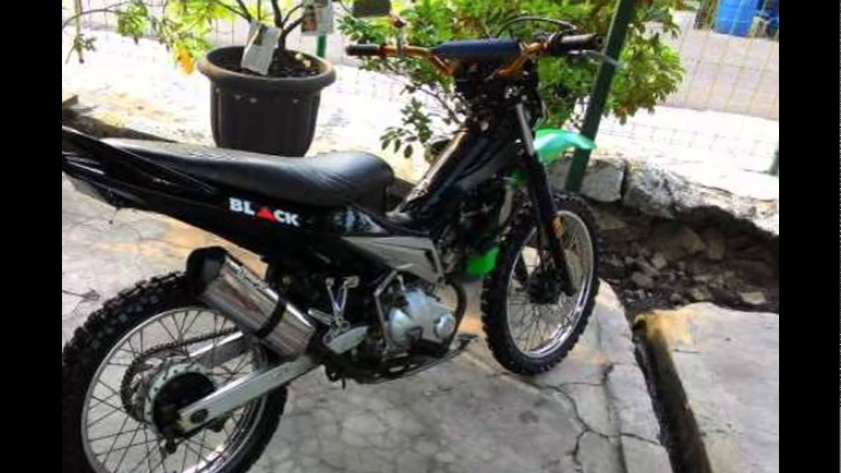 Video Modifikasi Motor Bebek Jupiter Mx Semi Trail Standar