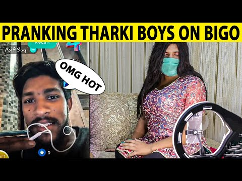 Cute Girl Pranking on Bigo Live Video Call on Strangers - Lahori PrankStar