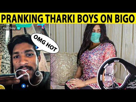 Cute Girl Pranking on Bigo Live Video Call on Strangers - Lahori PrankStar