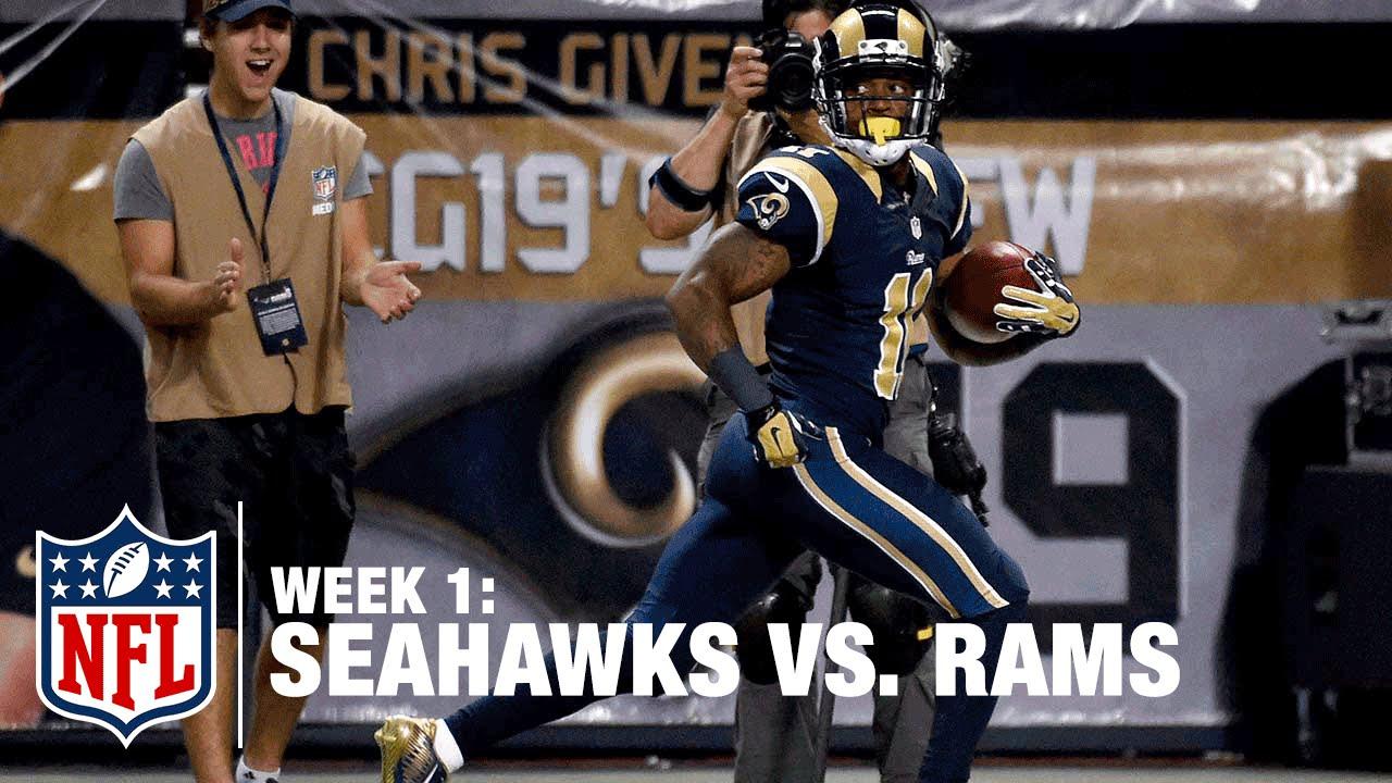 Tavon Austin Takes Seahawks Punt Back for TD   Seahawks vs. Rams   NFL