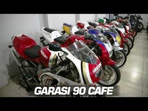KOLEKTOR MOTOR 2 TAK LANGKA INDONESIA - HINGGA BUKA CAFE BIKERS GARASI 90