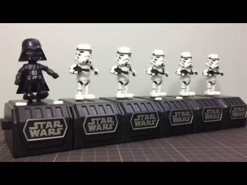STAR WARS SPACE OPERA DARTH VADER AND 5 STORMTROOPERS