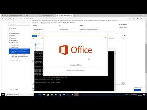 Install Visio Volume License With Office Click To Run