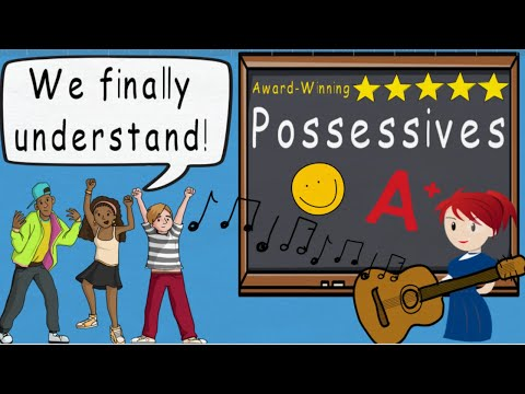 Possessives Song, Possessive Nouns, Apostrophe Usage by Melissa