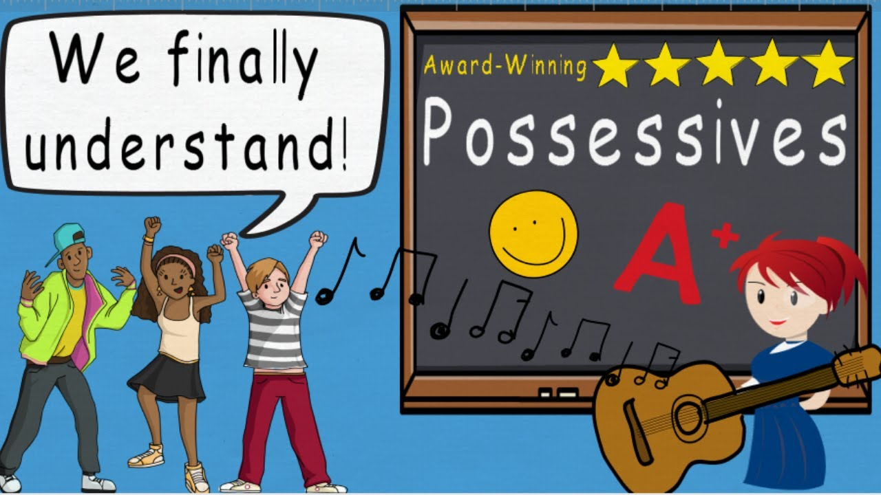 Possessives Song, Possessive Nouns, Apostrophe Usage by Melissa ...