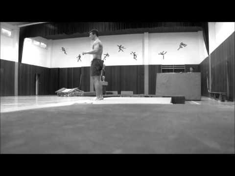 standing layout backflip