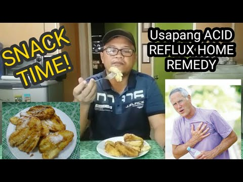 SNACK TIME! AT USAPANG ACID REFLUX | Nic Son