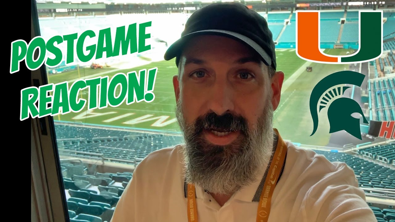 Miami Hurricanes vs Michigan State Spartans: Three Stars of the ...
