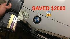 BMW WINDSHIELD COSTS HOW MUCH!?!?!?