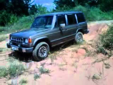 1991 Mitsubishi Montero Hill climb! - YouTube