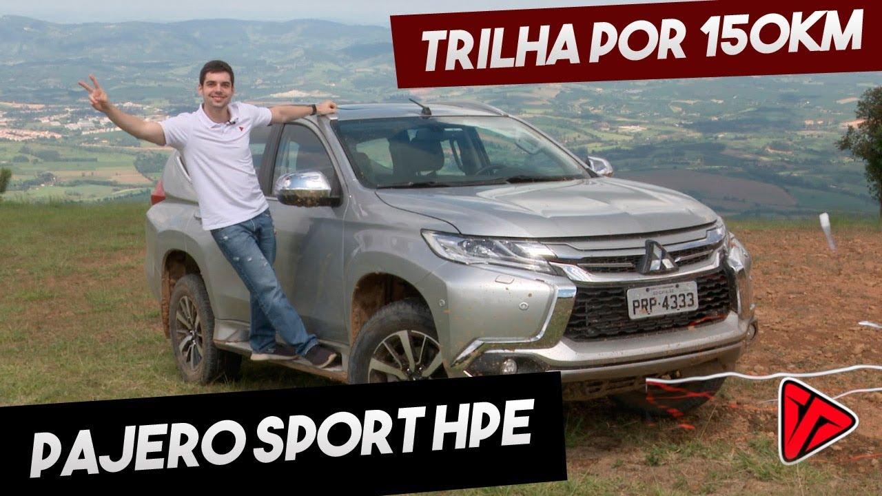 Mitsubishi Pajero Sport HPE 2020 por 150km de trilha!   Avaliação Top Speed